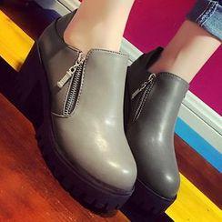 QQ Trend - Platform Ankle Boots