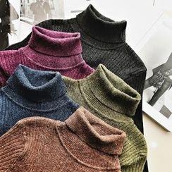 Jack Grace - Turtleneck Knit Top