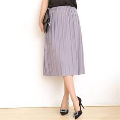 Meigo - Pleated Midi Skirt