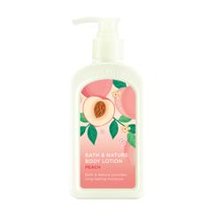 Nature Republic - Bath & Nature Body Lotion (Peach) 250ml