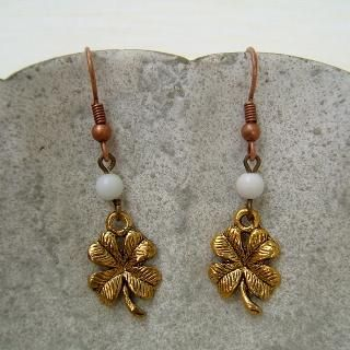 MyLittleThing - Lucky Leaves Earrings
