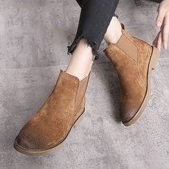 Ammie - Burnished Chelsea Boots