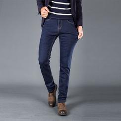 Denimic - Fleece Lined Slim-Fit Jeans