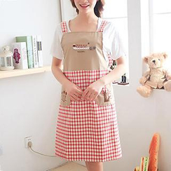 Home Simply - Plaid Apron