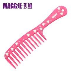 Maggie's - Heart Print Hair Comb