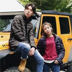 Superstar.i - Couple Zip-Up Padded Jacket