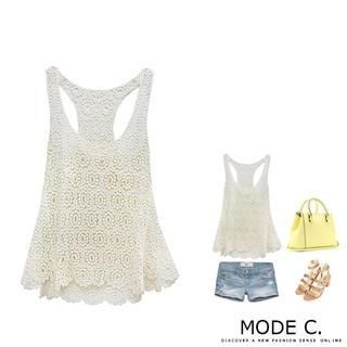 MODE C. - Crochet Tank Top