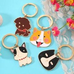 Red Unicorn - Animal Keyring