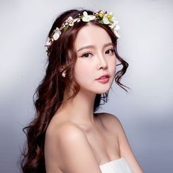 Suaylla - Bridal Flower Hair Crown