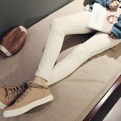 NANING9 - Brushed Fleece Skinny Jeans
