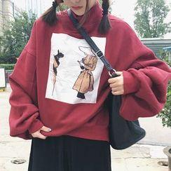 Cloud Nine - 高領寬鬆衛衣