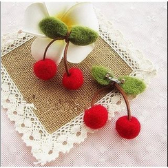 Moricode - Cherry Brooch