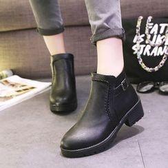 Chryse - 扣带及踝靴