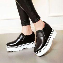 YOUIN - Wedge Slip-On Sneakers