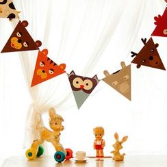 OH.LEELY - Animal Triangle Garland