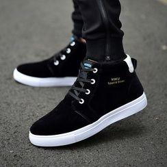 Rizmond - Color Block High-Top Sneakers