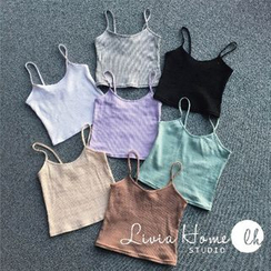 QZ Lady - Ribbed Camisole Top