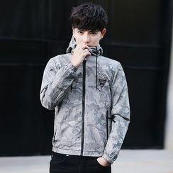 2RZ - Printed Hooded Jacket