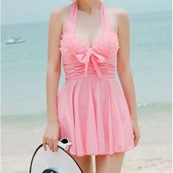 DJ Design - Halter Swimdress