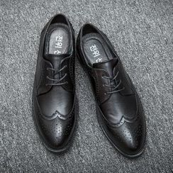 Hipsteria - Faux Leather Brogue Oxfords