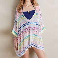 Sunset Hours - Printed Cover-Up