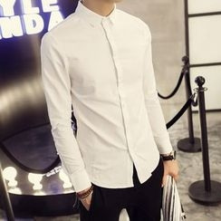 Flambeau - Plain Long-Sleeve Shirt
