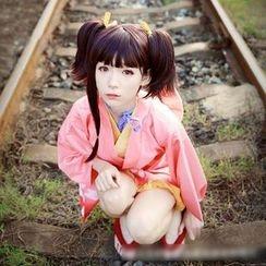 Flamo - KABANERI OF THE IRON FORTRESS Kimono Cosplay Costume