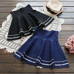 YOYO - A字针织裙