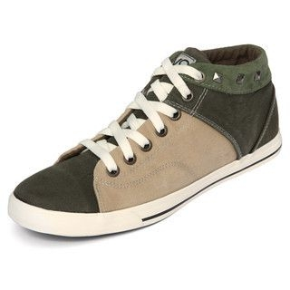 yeswalker - Studded Two-Tone Sneakers