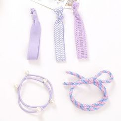 YUNO - Set of 5 : Hair Tie