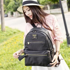 VIVA - Faux Leather Backpack