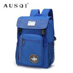 Ausqi - Kids Canvas Flap Backpack