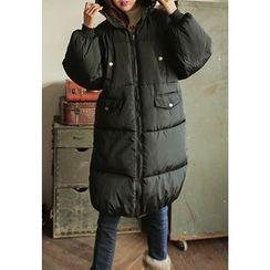 REDOPIN - Zip-Up Padded Coat