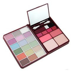 Cameleon - MakeUp Kit G0139-1 : 18x Eyeshadow, 2x Blusher, 2x Pressed Powder, 4x Lipgloss