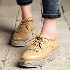 MIAOLV - Fringed Oxfords