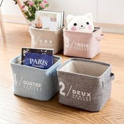 Home Simply - Linen Desk Organizer