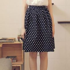 Tokyo Fashion - Patterned A-Line Skirt