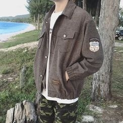 JUN.LEE - Appliqué Buttoned Jacket