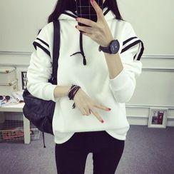 Ukiyo - 条纹连帽衫