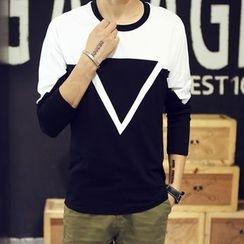 Bayou - Two-Tone Long-Sleeve T-Shirt