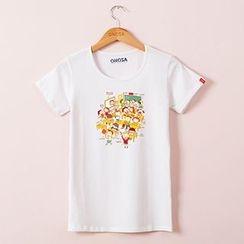 Onoza - Short-Sleeve Printed T-Shirt