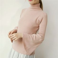 Honey House - Plain Turtleneck Sweater