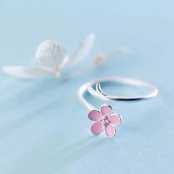 A'ROCH - 925 Sterling Sliver Flower Ring
