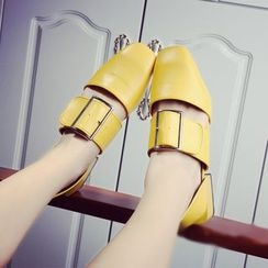 Micha - Chunky Heel Buckled Sandals