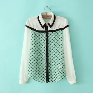 JVL - Patterned Blouse