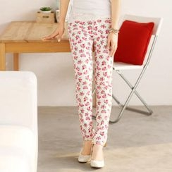 59 Seconds - Floral Skinny Pants