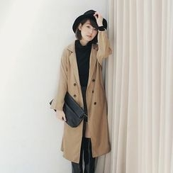 Tokyo Fashion - Double Breasted Trench Jacket