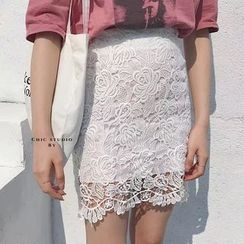 Mango Home - Lace Pencil Skirt
