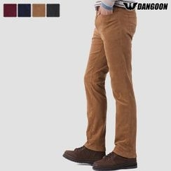 DANGOON - Straight-Cut Corduroy Pants