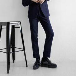 Seoul Homme - Straight-Cut Dress Pants